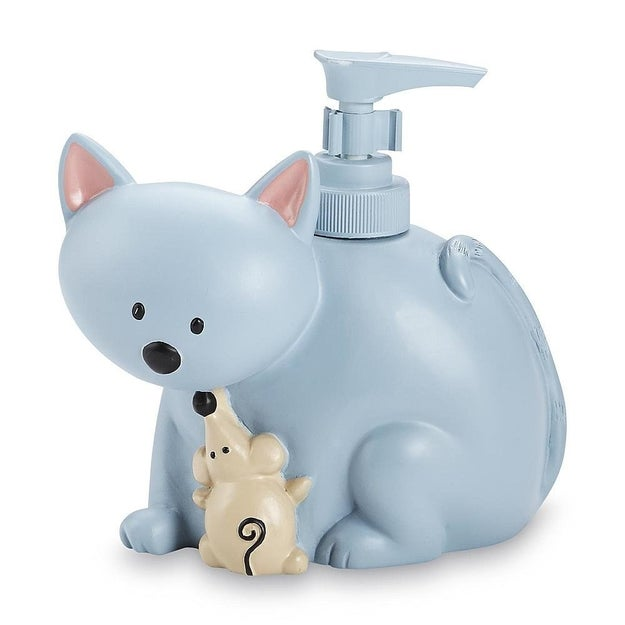 Wipe and/or scrub the tops of your soap dispensers, which will gradually gather grime as they're used.