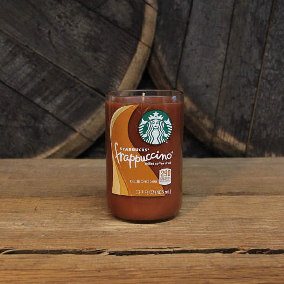 A frappuccino candle that smells like misspelled names and specialty coffee heaven.