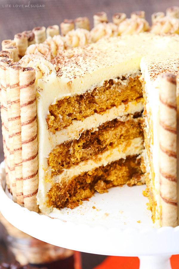 Lifeloveandsugar    Pecan Pie Layer Cake