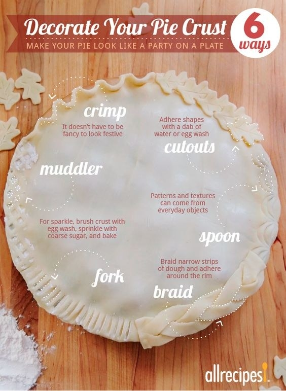 Or decorate your pie crust however you like best.