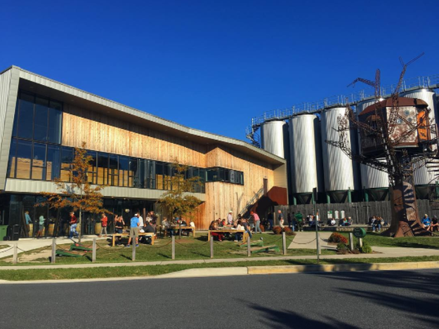 Dogfish Head Craft Brewery, Milton, Delaware