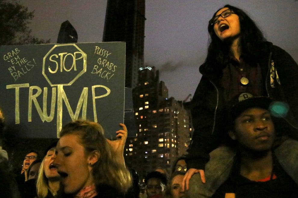 La idea de un presidente xenófobo, misógino y bully en la Casa Blanca resultó más que suficiente para salir a protestar.