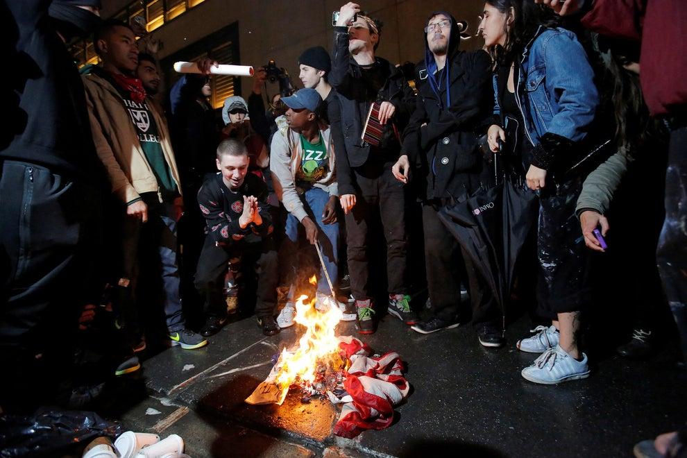 El discurso electoral estuvo manchado por violencia verbal y física. Ahora esa violencia se transporta a las calles.