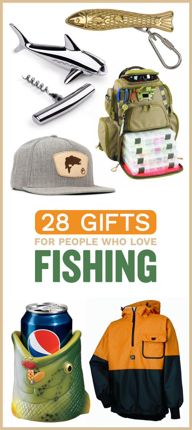 28 gifts for people who love fishing for Gift ideas for fishing lovers