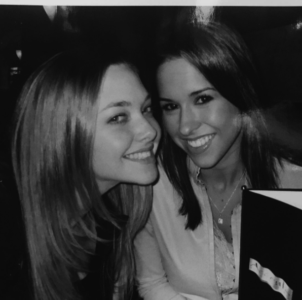 Amanda Seyfried took us back to 2003, to when she and co-star, Lacey Chabert, were filming Mean Girls.