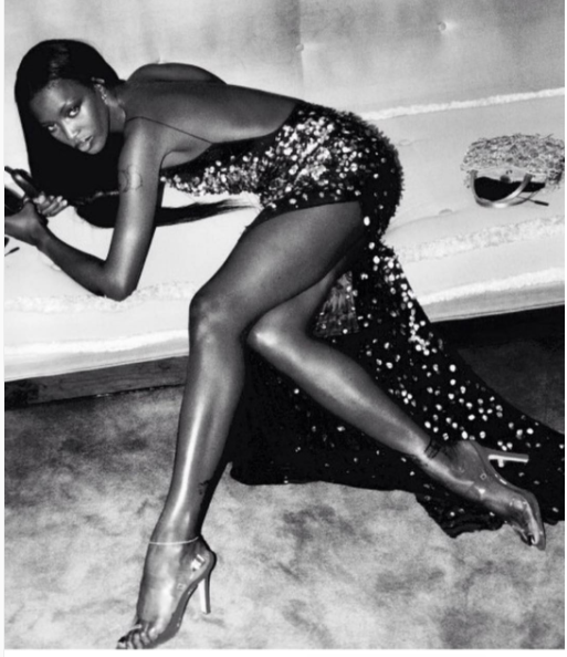 Also feeling very glam was Naomi Campbell, who shared this stunning photo.