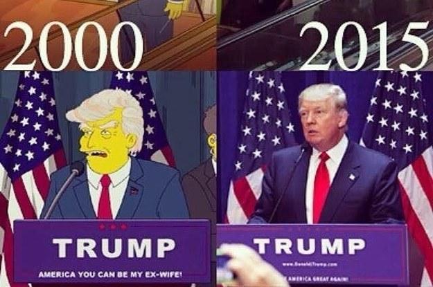 Nein, Die Simpsons haben Trumps Sieg nicht vorhergesagt
