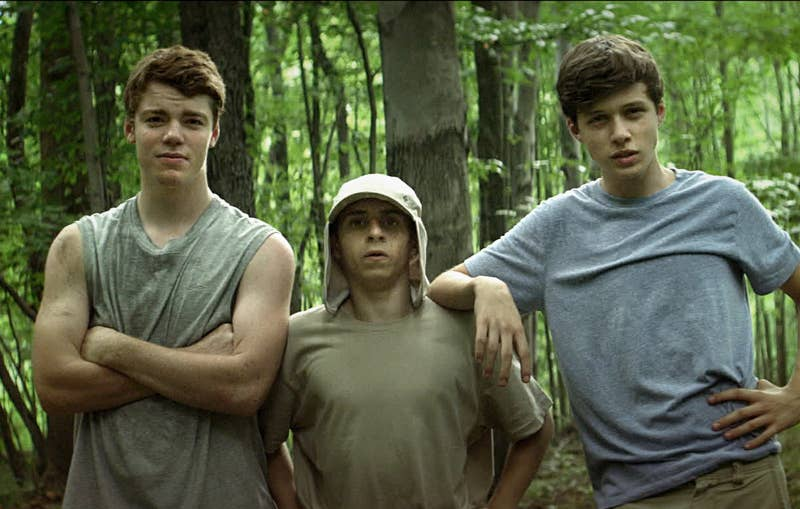 """""""It's such a great escape movie. It's about three teens who run away and build their own home in the woods. The feeling of suffocation they feel is relatable and it's like an acceptance movie of growing up.""""—Destinyy Alegre, Facebook"""