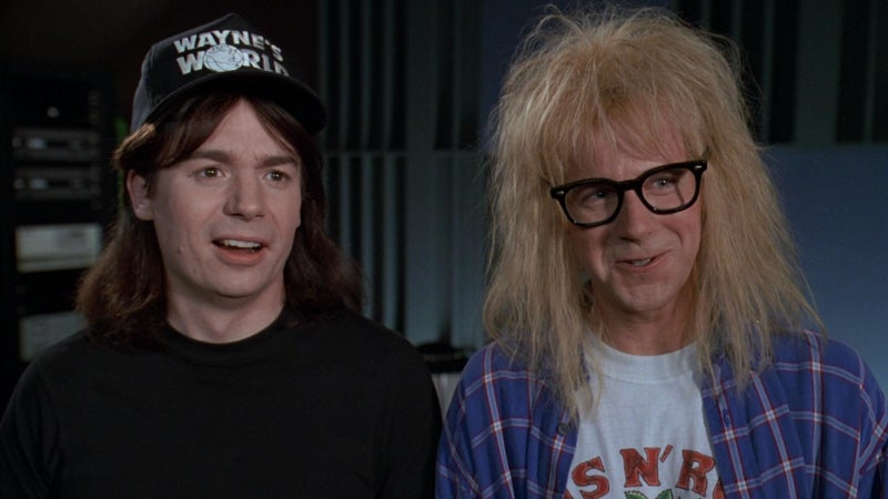 """Between Dana Carvey's sweet, silly portrayal of Garth, and Mike Myers' classic '90s representation of a true dude, I can really fall into a gleeful hypnosis. If you're gonna spew, spew into this.""—Meghan Martinez, Facebook"