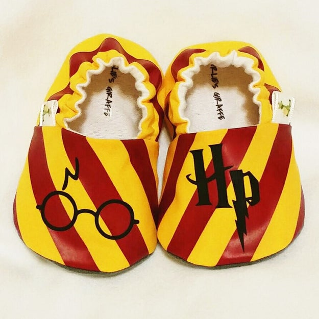A pair of booties with non-slip bottoms for the shifting Hogwarts staircases.
