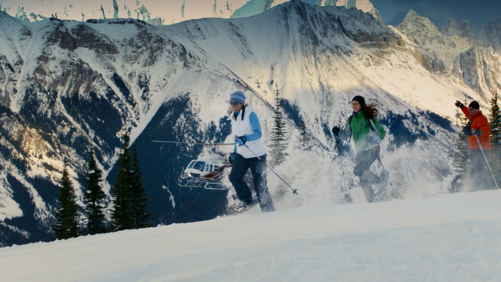 If you're looking for more of an aerial view, try a heli-snowshoeing adventure tour of the Canadian Rockies.