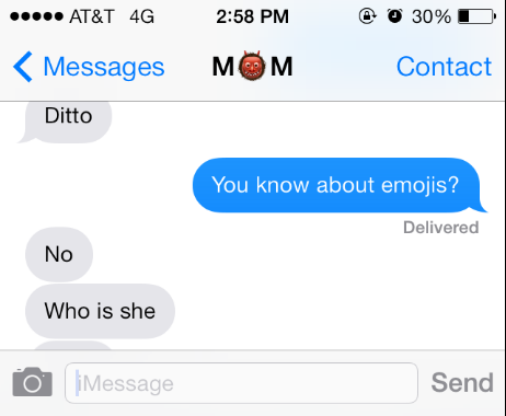 They're finally learning about emojis: