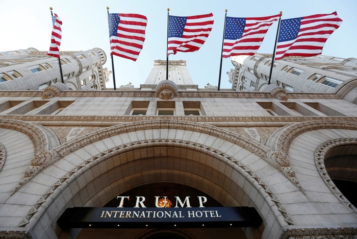 Trump's newest hotel, just blocks from the White House.