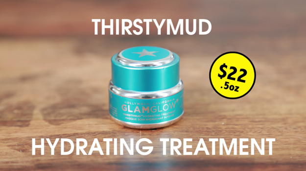 And each would be trying something different. Fred would be using Thirstymud Hydrating Treatment 'cause the Los Angeles air can make your skin pretty dry.
