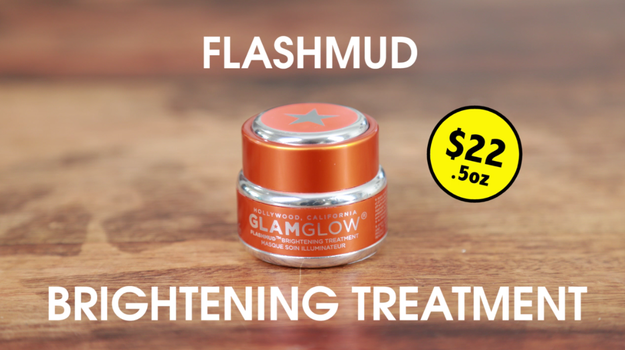 Devin would be using Flashmud Brightening Treatment to make sure she looked bomb dot com all the damn time.