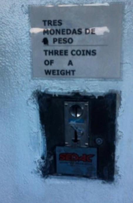 ¿Multiplico mi peso por tres y es eso en monedas o cómo? No entiendo nada.