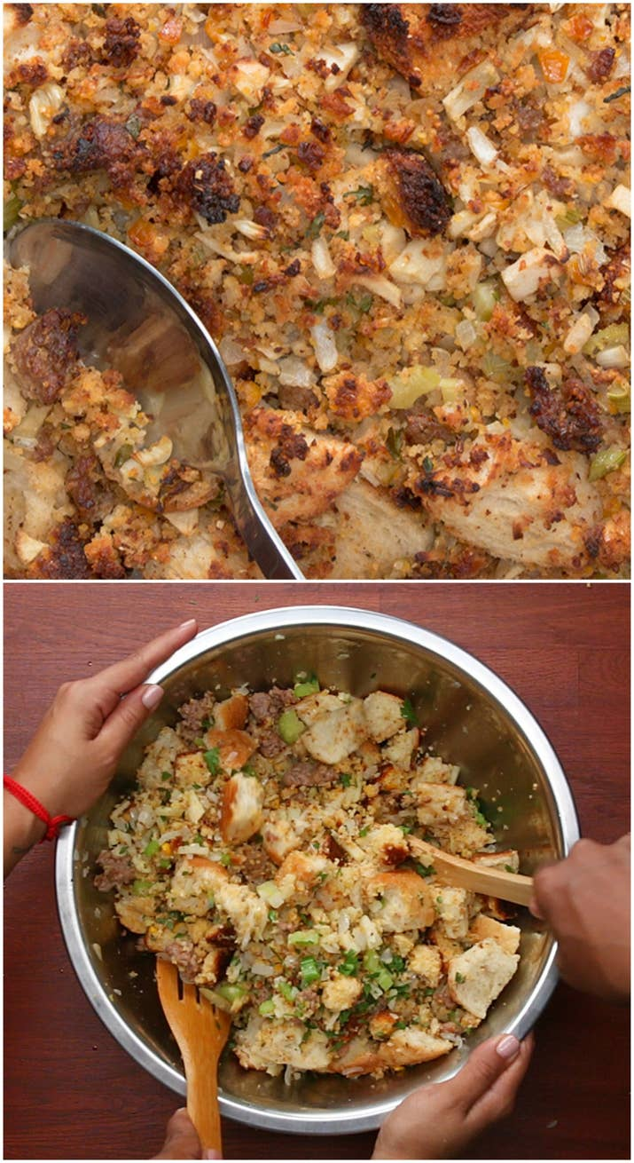 Tia mowry made her legendary cornbread stuffing for us and its tia mowry made her legendary cornbread stuffing for us and its incredible forumfinder Image collections