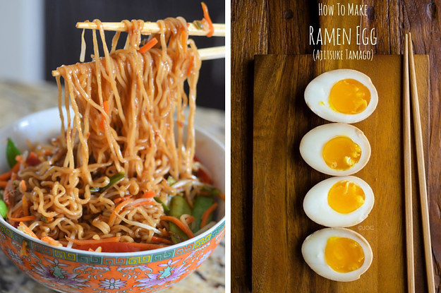 How to make packaged ramen good