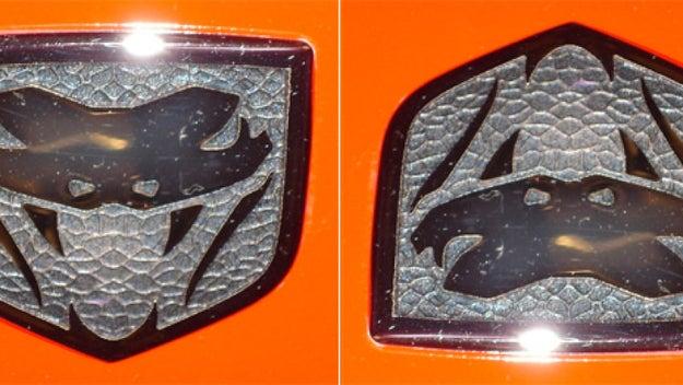 El logotipo viejito de Dodge Viper era en realidad el Pato Lucas.
