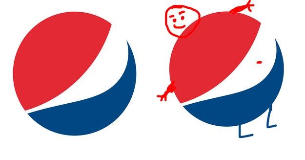El nuevo logo de Pepsi es un hombre panzón.