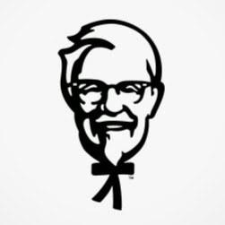 El Coronel Sanders tiene cuerpo de palitos.
