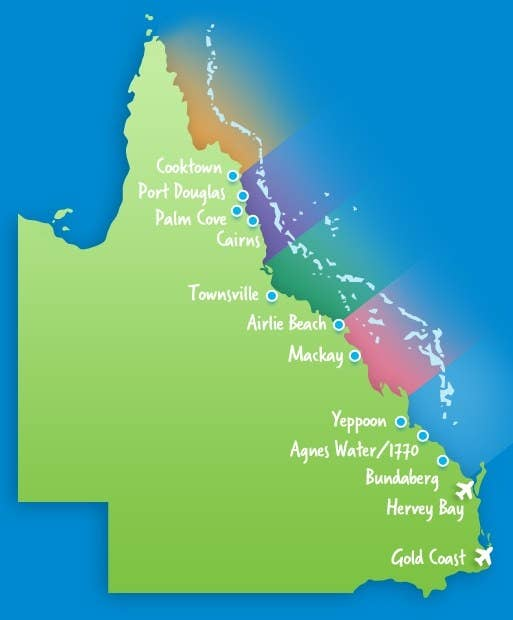 Great Barrier Reef Karte.Here S Everything You Need To Know About Visiting The Great Barrier Reef