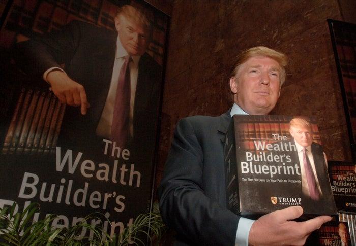 Trump in 2005.