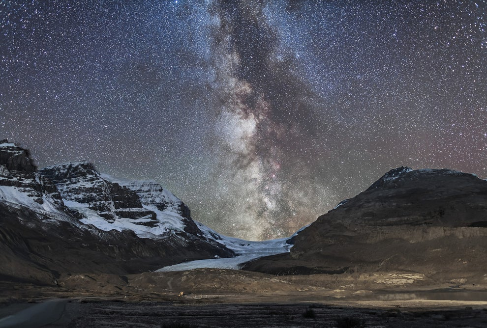 If you're more of a stargazer, you have to see the Milky Way in Jasper National Park.