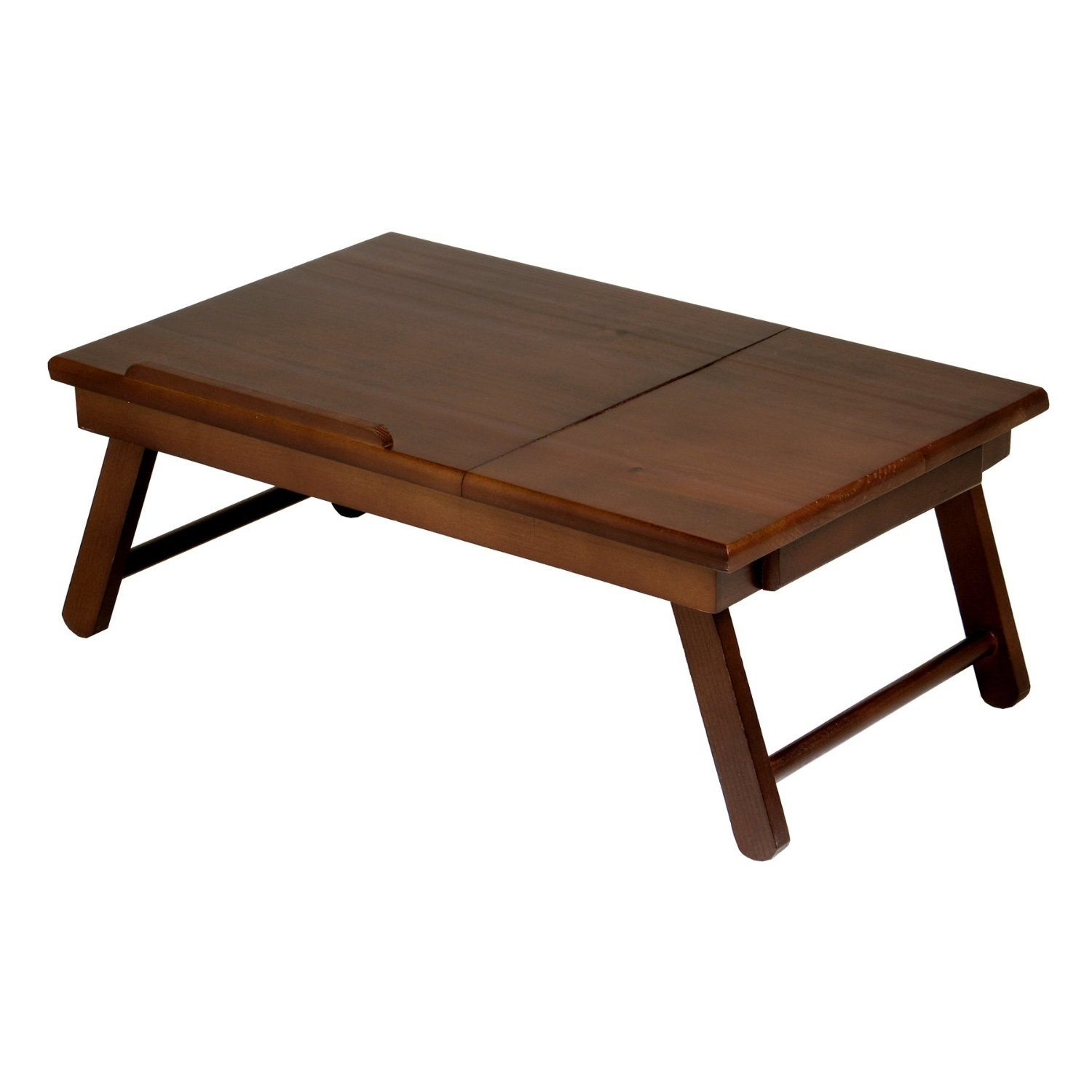 this lap desk with hidden storage and foldable legs thatu0027s marvelous for days when you refuse to get out of bed