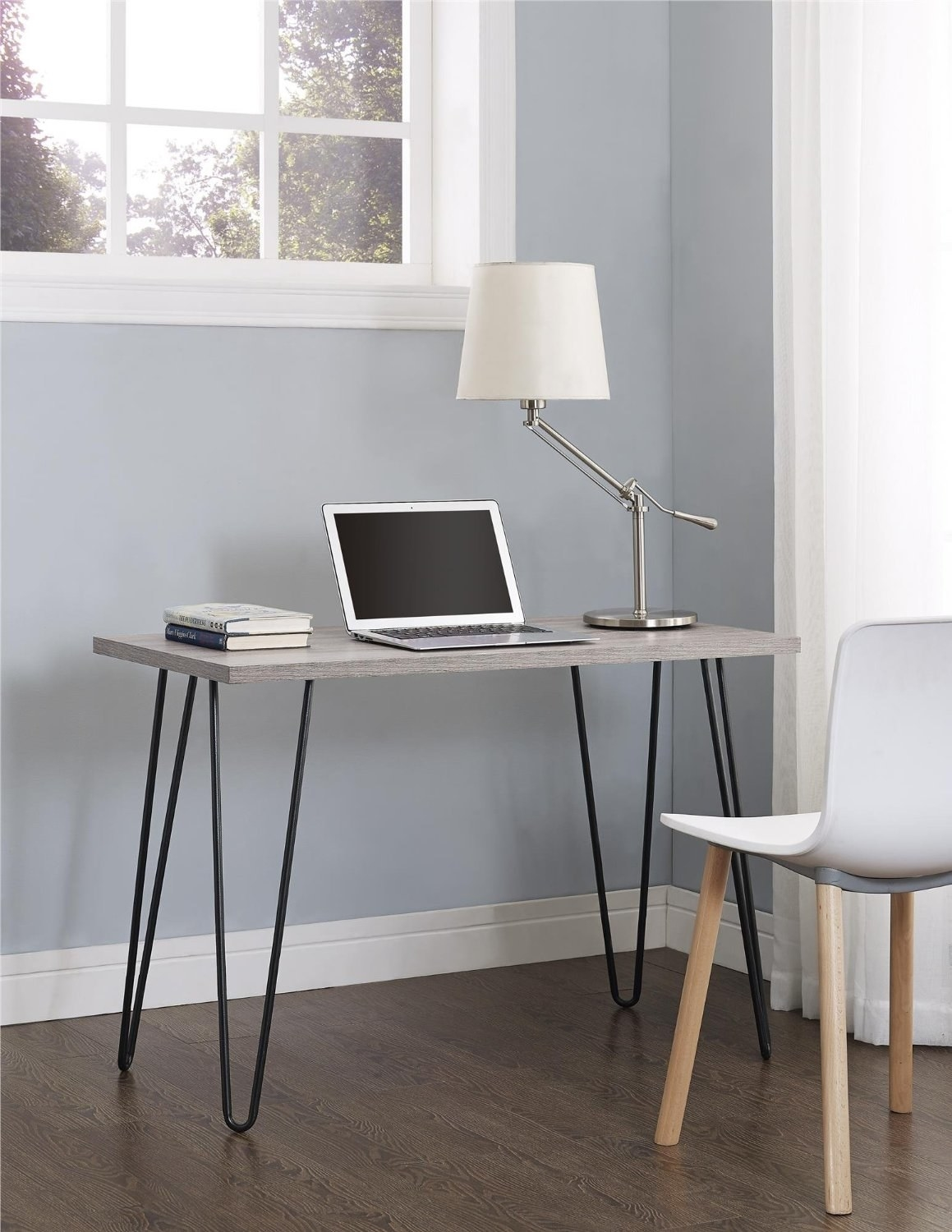 This Chic Desk With Vibrant Adorable Hairpin Legs That Ll Help Modernize Your E