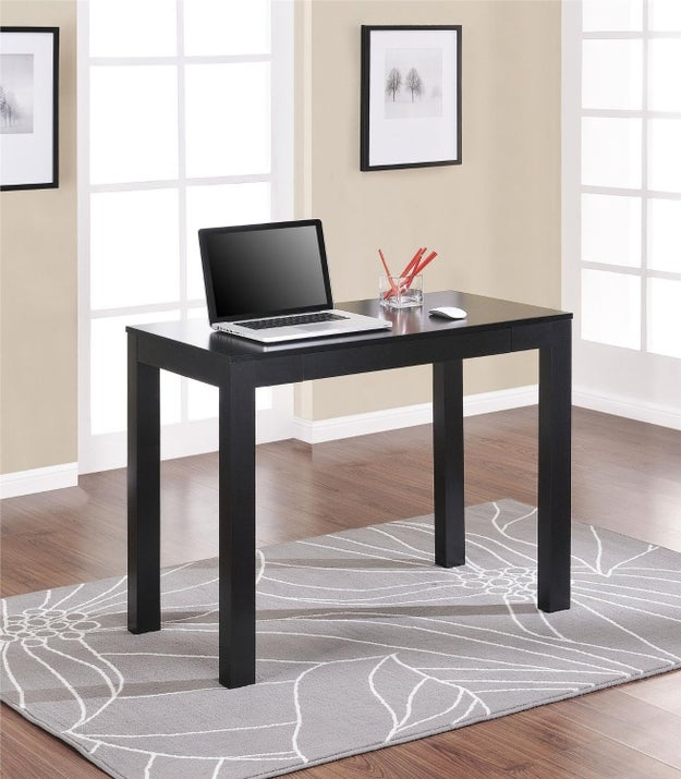 This desk with a storage drawer that's perfect for light use.