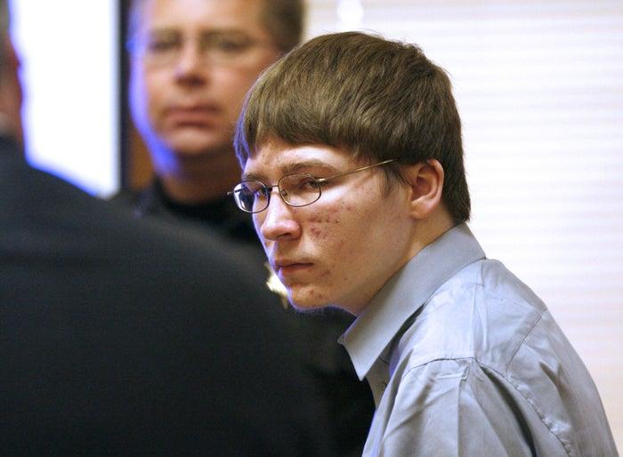Brendan Dassey appears in court in 2007.