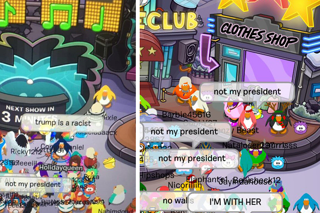 There Was A Trump Protest On This Kids Game And People Are Shook