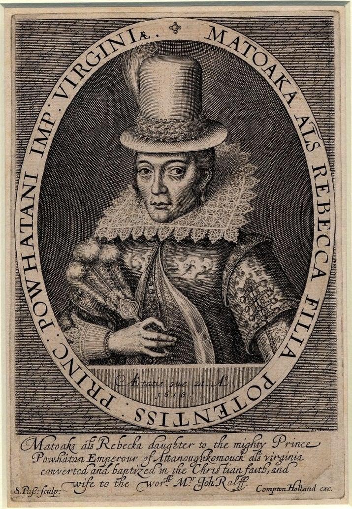"""Cómo era en realidad:Matoaka, mejor conocida como Pocahontas, era la hija del jefe Powhatan, en las tierras que hoy se conocen como Virginia. Los nativos secuestraron a John Smith para cambiarlo por rehenes y ella le salvó la vida. Esa fue la única relación que tuvieron.A los 17 años, Matoaka se casó con un colono inglés llamado John Rolfe. Rolfe se la llevó a Londres para probarle a la Corona que """"los nativos del nuevo Mundo podían ser domesticados"""", pero Pocahontas murió de tuberculosis a los 22 años."""