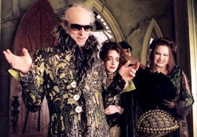 Count Olaf is stubborner than Donald Trump's Twitter account at 3 a.m., despite nearly being killed dozens of times in his quest for the Baudelaires' money.
