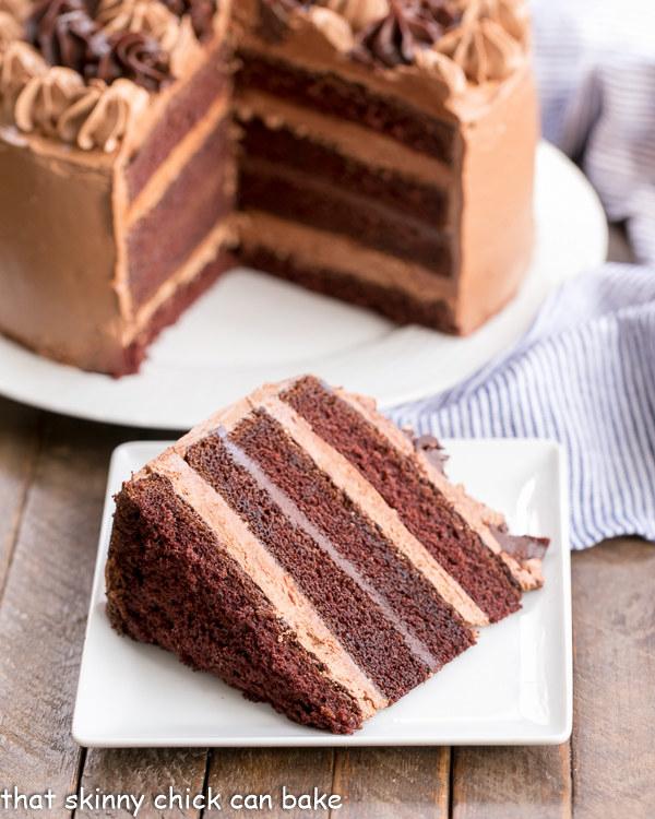 6-Layer Chocolate Fudge Cake
