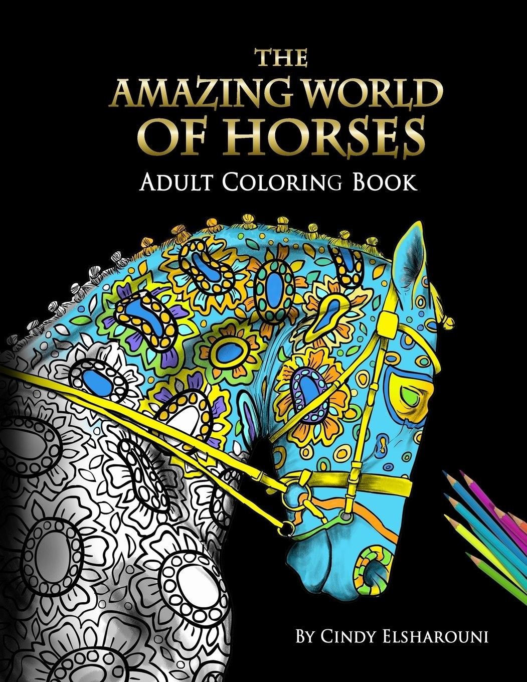 And An Adult Coloring Book That Lets You Create The Jewel Tone Horses Of Your Dreams