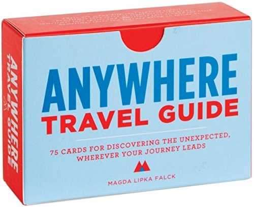 A deck of travel guide cards that will help you find adventure around every corner.
