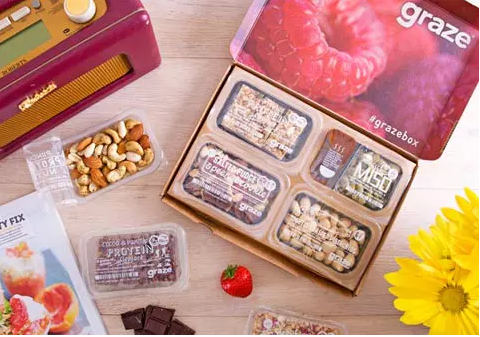 Each box contains eight customizable snack choices ranging from microwave popcorn to specialty nuts to cookie & 29 Subscription Boxes That Take The Stress Out Of Gift-Giving Aboutintivar.Com