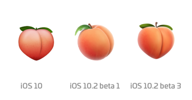 Well, it appears our peach butt prayers were answered, because Apple just decided to bring the OG emoji back as part of its latest round of beta updates.