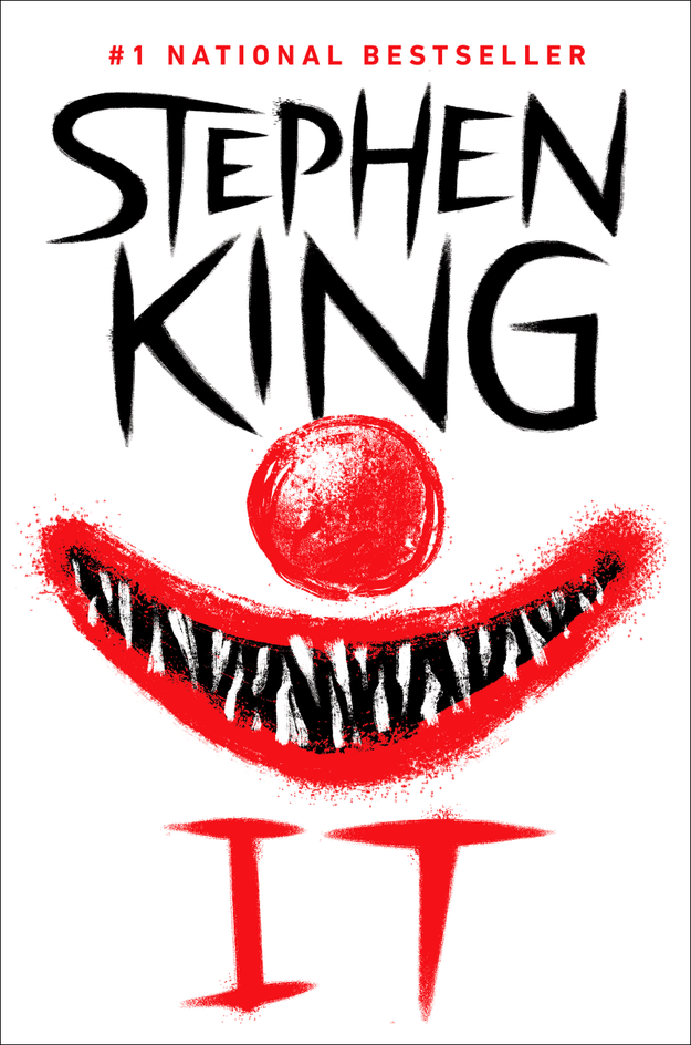 A well-known Stephen King novel about clowns because, well, they seem to be making quite a comeback.