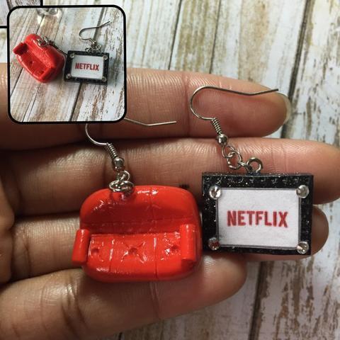 Aretes de Netflix & Chill ($526).