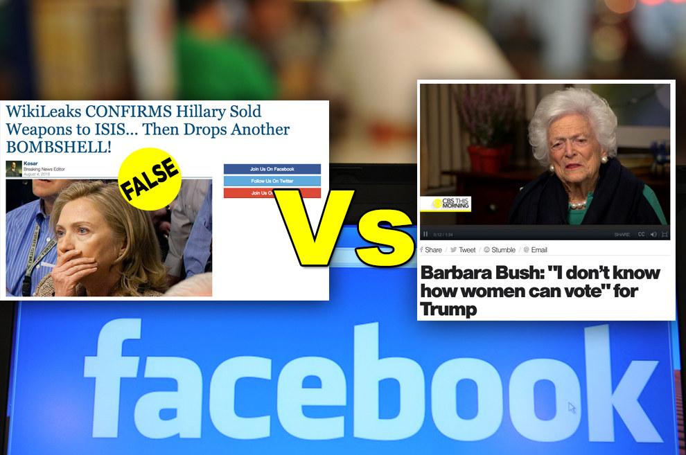Bufale su facebook (Buzzfeed)