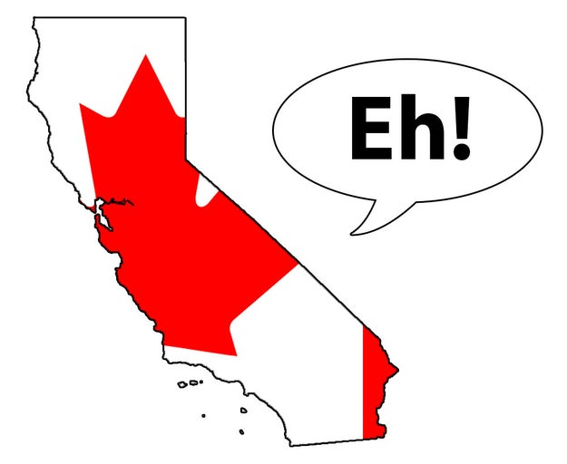 Image result for calexit canada