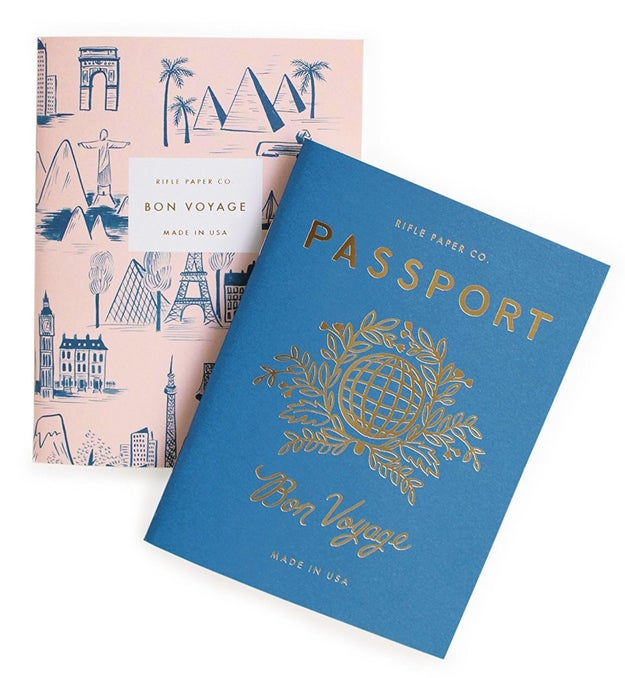 Cute notebooks that are super useful for jotting down notes (aka future travel plans).