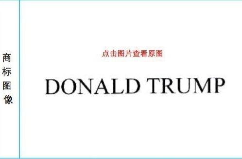 """DONALD TRUMP"" trademark registered by Donald Trump"