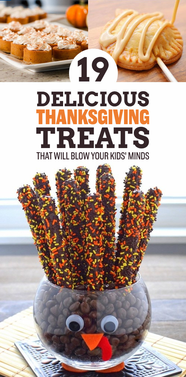 Delicious thanksgiving treats that will blow your kids