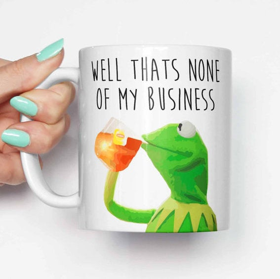 But, you know, that's none of my business. *Sips tea.* Get it from Memeskins on Etsy for $14.07.