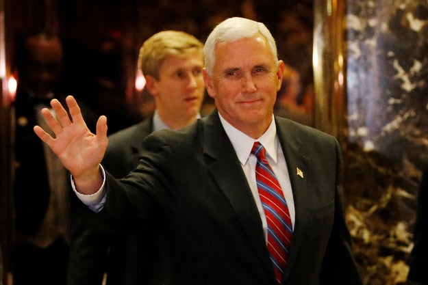 This is Mike Pence, the Indiana governor and vice president-elect. He tweets under the handle @mike_pence.