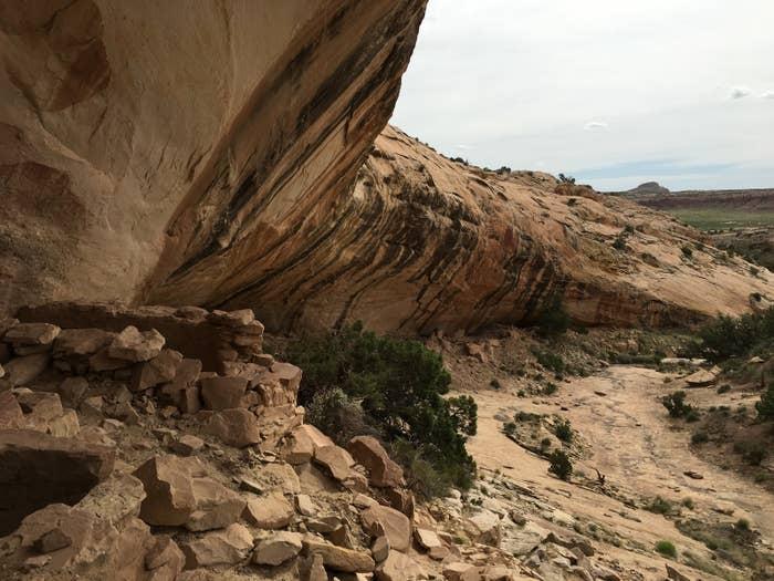 Federal land near Bluff, Utah, that includes Native American ruins